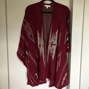 Southwestern kimono/poncho